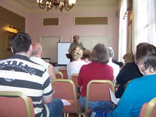 Geoffrey Ashe at LOAF 2006